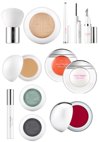 courreges maquillage estée lauder
