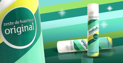Batiste shampoing sec