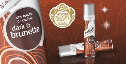 shampoing sec brunette batiste