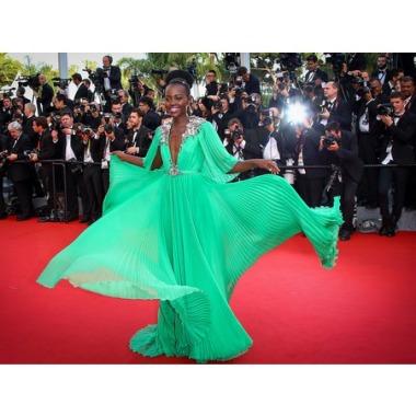 Cannes 2015 Lupita Nyongo Gucci