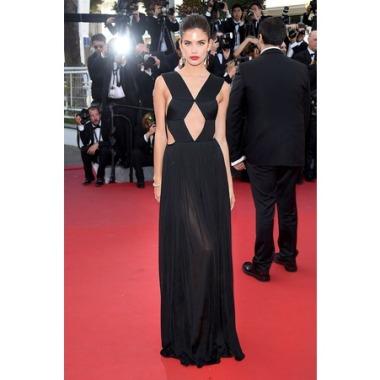 Cannes 2015 Sara Sampaio en Vionnet