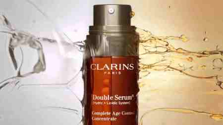 double sérum Clarins