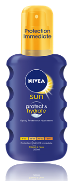 nivea sun spray corps