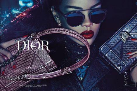 rihanna campagne Dior