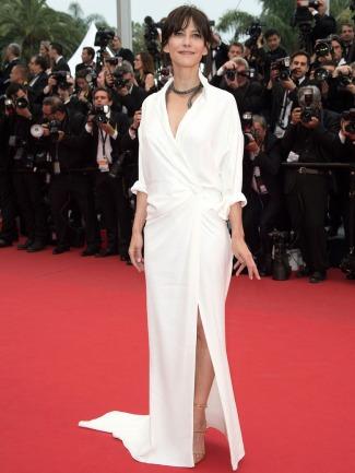 Sophie Marceau Alexandre Vauthier Cannes 2015