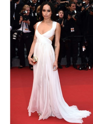 Zoe Kravitz Valentino Cannes 2015
