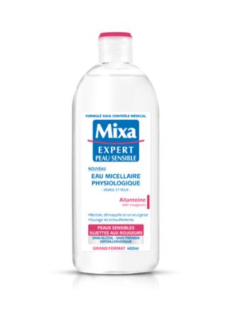 eau micellaire physiologique Mixa