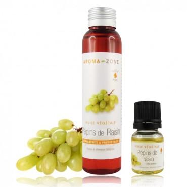 huile pépins raisin aroma zone
