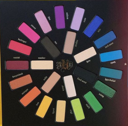 palette mi vida loca Kat von D close up