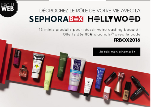 Sephora box hollywood