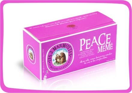 Peace Mémé tisane 2 marmottes